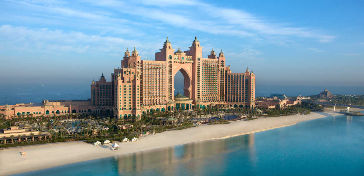 Atlantis, The Palm Dubai exterior