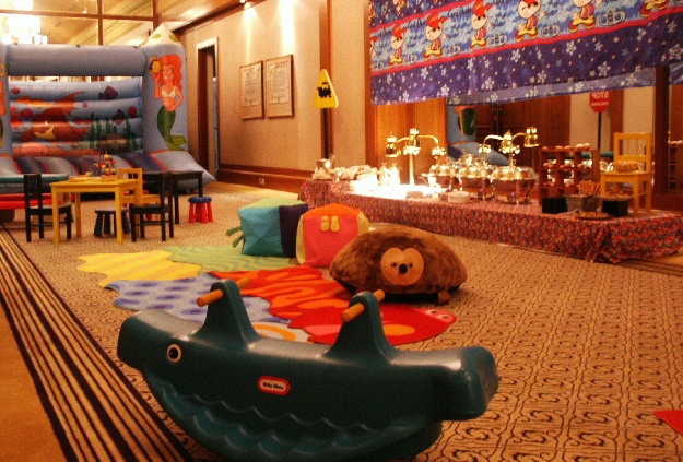 Children's Playzone at the Four Seasons Hotel Singapore