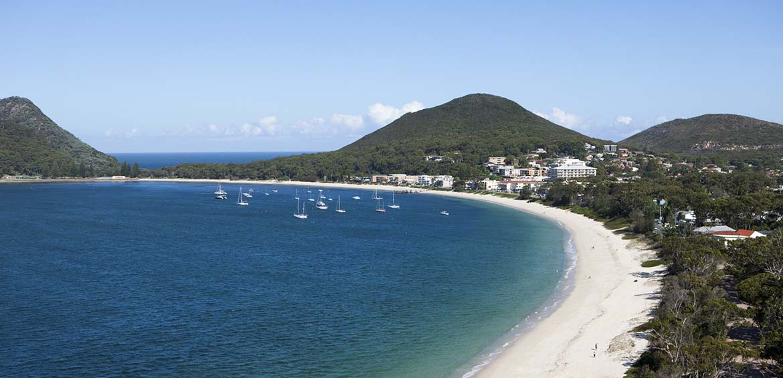 Fingal Bay © Destination Port Stephens