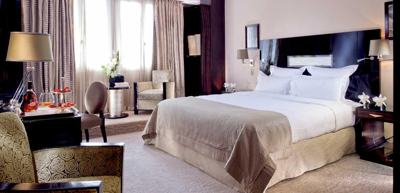 Deluxe Room, Hôtel Plaza Athénée © De Laubier