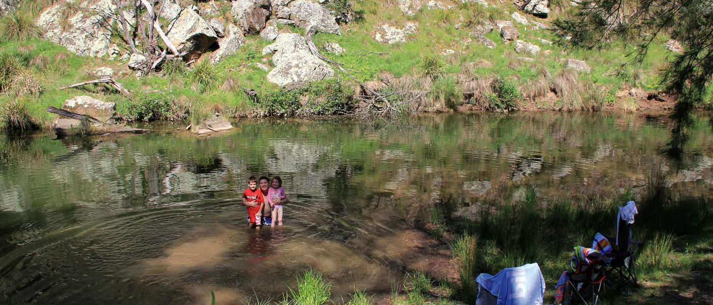 A family camping and 4WD adventure along Turon River