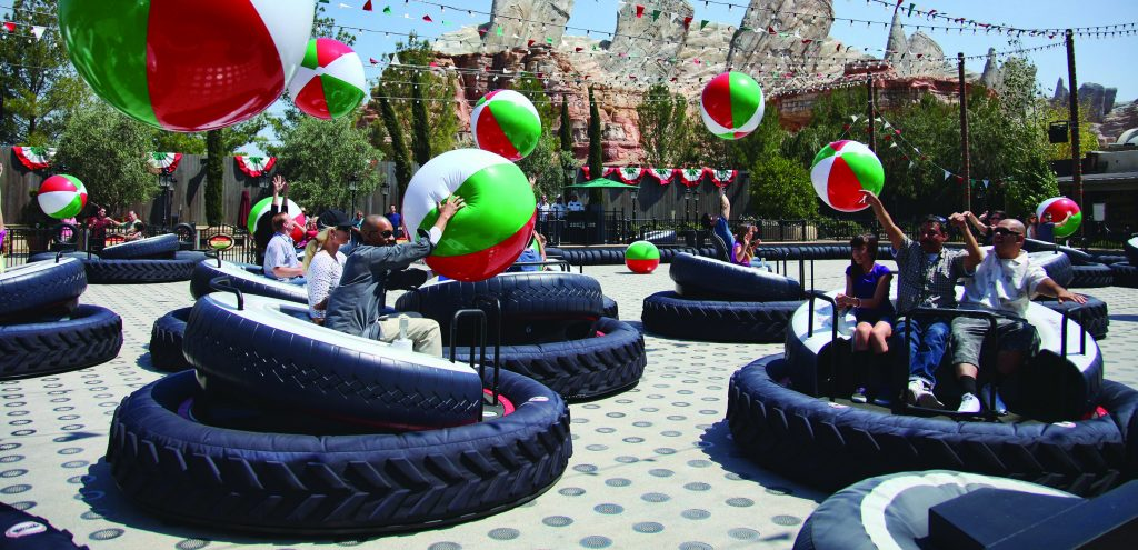 Luigi's Flying Tires © Disney