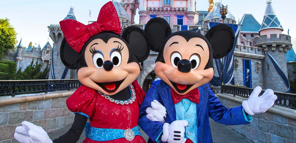 Micky and Minnie © Disney