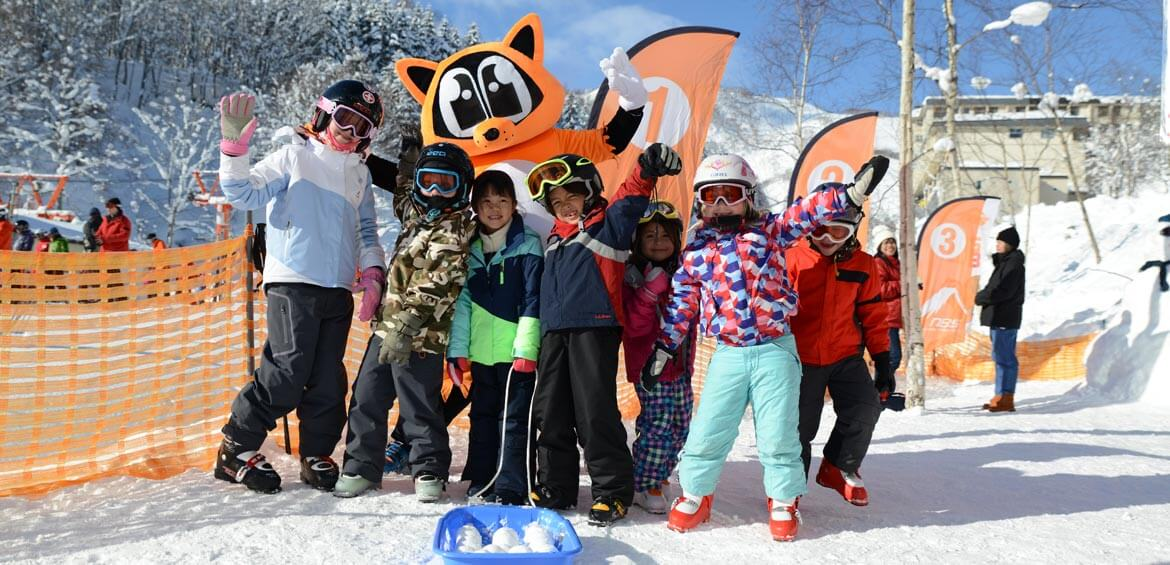 Ski school with SkiJapan.com