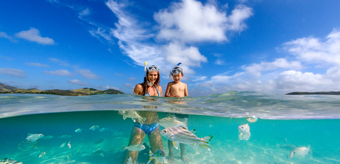 An underwater world © Tourism Fiji