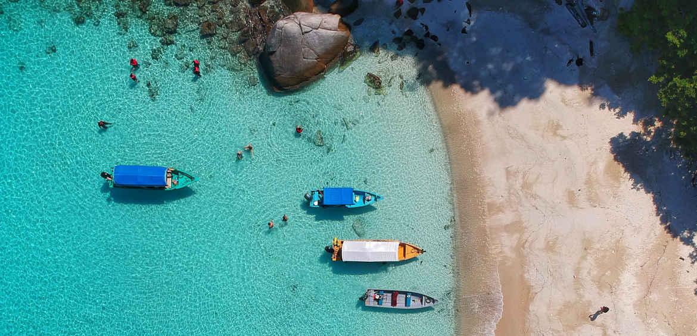 island hopping malaysia boats