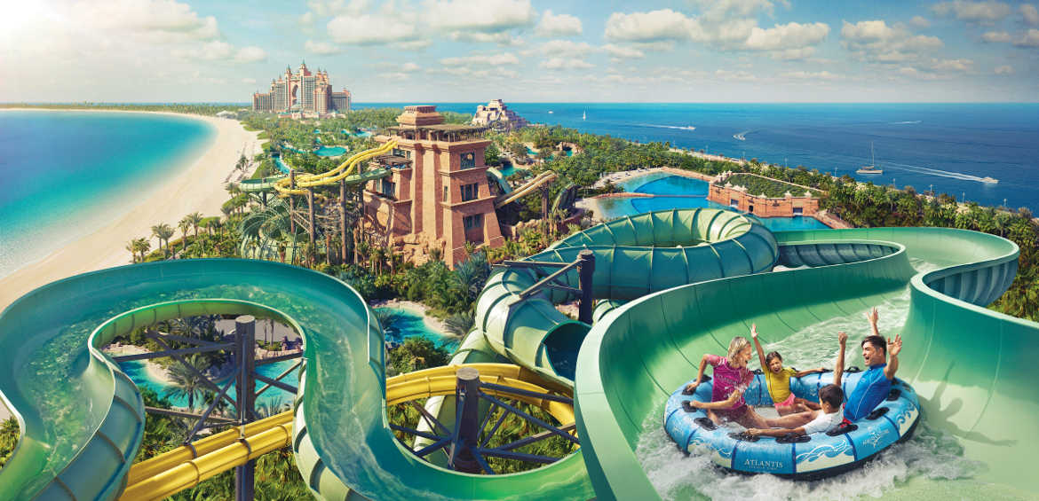 Aquaventure Park at Atlantis, The Palm