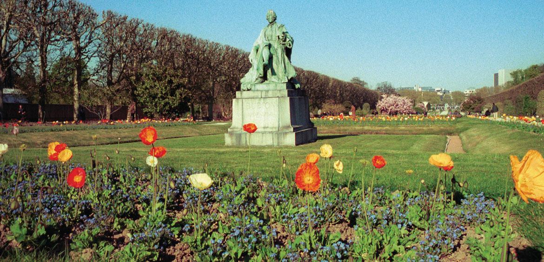 Le Jardin des Plantes. Image courtesy of Paris Tourist Office