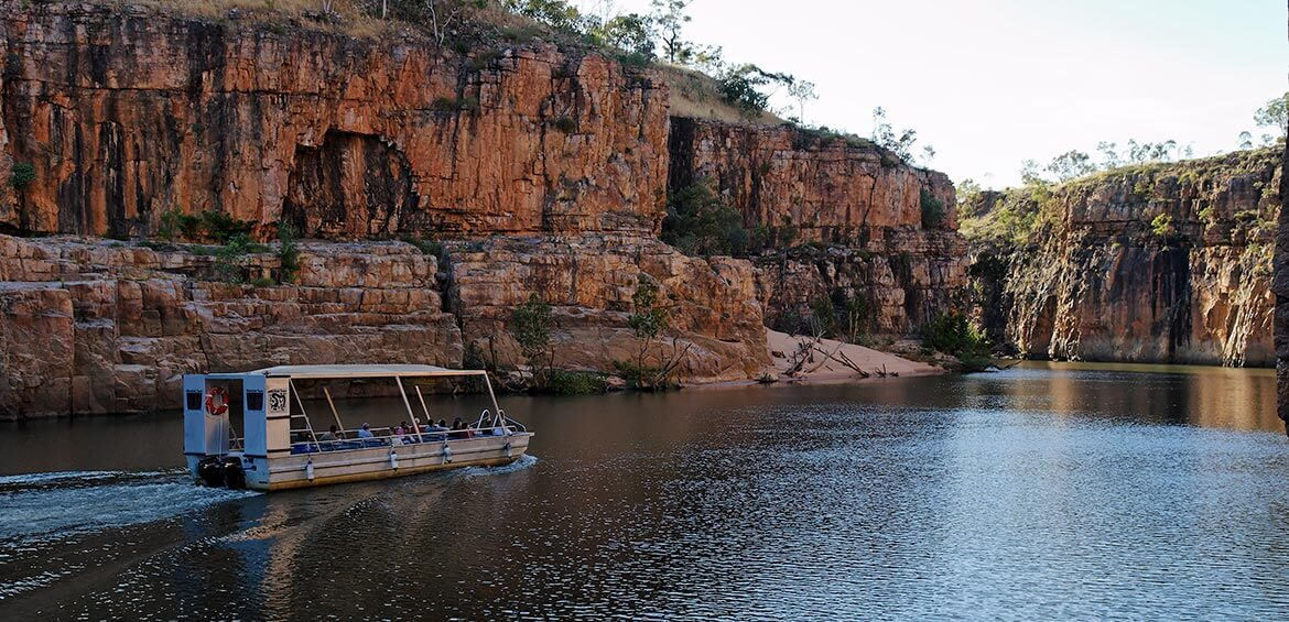 A cruise through Nitmiluk Gorge