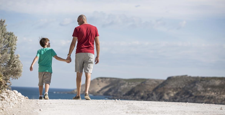 Beach walks at Kangaroo Island