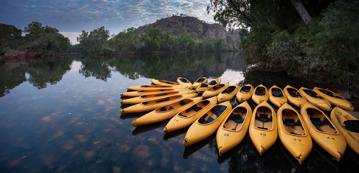 Canoe tours with Nitmiluk Tours