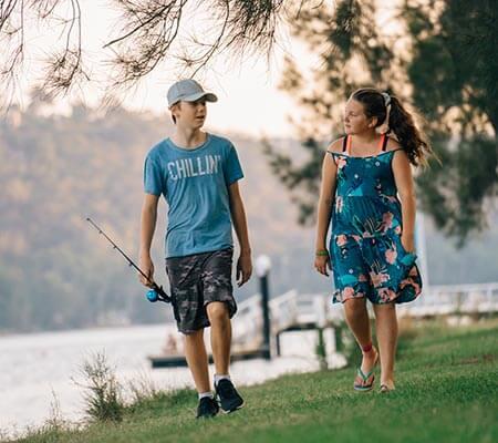 Fishing at Del Rio Riverside Resort