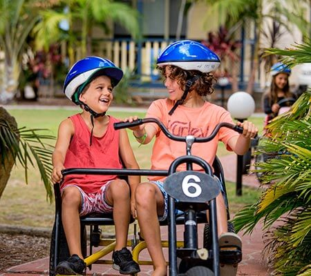 Go-karts at BIG4 Ingenia Holidays Soldiers Point