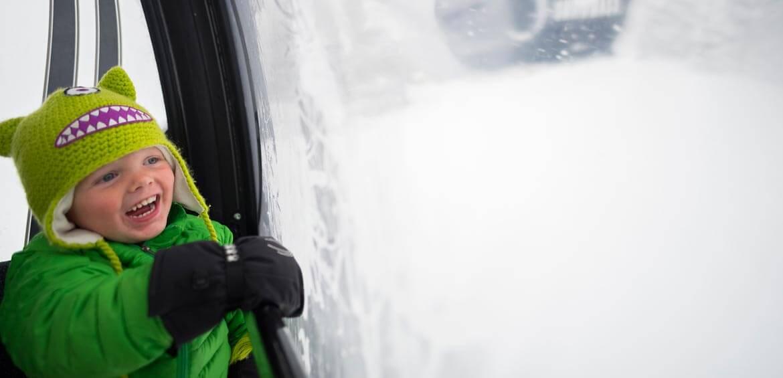 Gondola ride at Aspen Snowmass