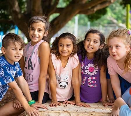 Kids having fun at Del Rio Riverside Resort
