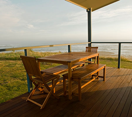 Kilcunda Oceanview Holiday Retreat deck