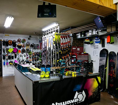 Koki Alpine Resort ski store