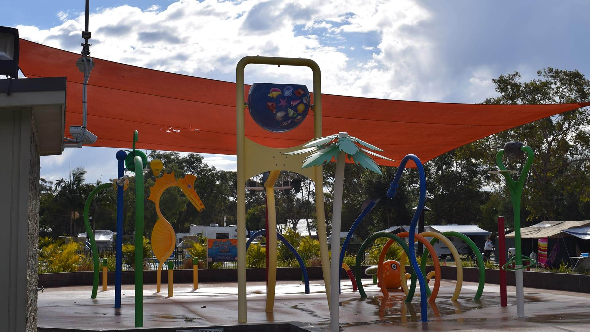 NRMA Ocean Beach Holiday Park waterpark