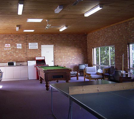 Ocean Grove Holiday Retreat recreation room