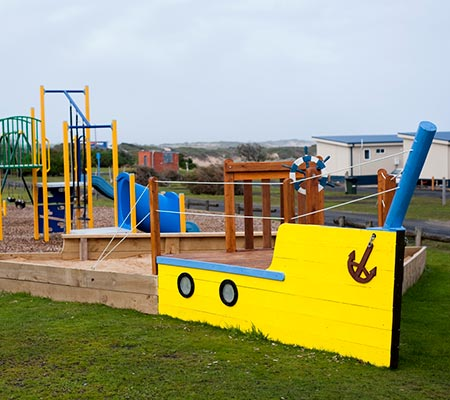 Playground at Kilcunda Oceanview Holiday Retreat