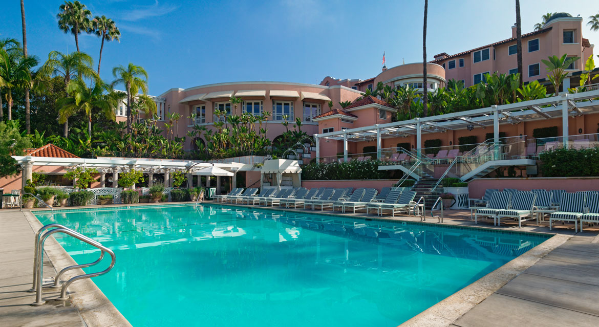 The Beverley Hills Hotel Pool