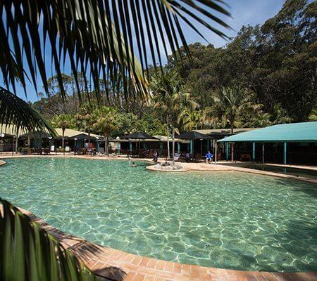 Pool at NRMA Murramarang Beachfront Holiday Resort