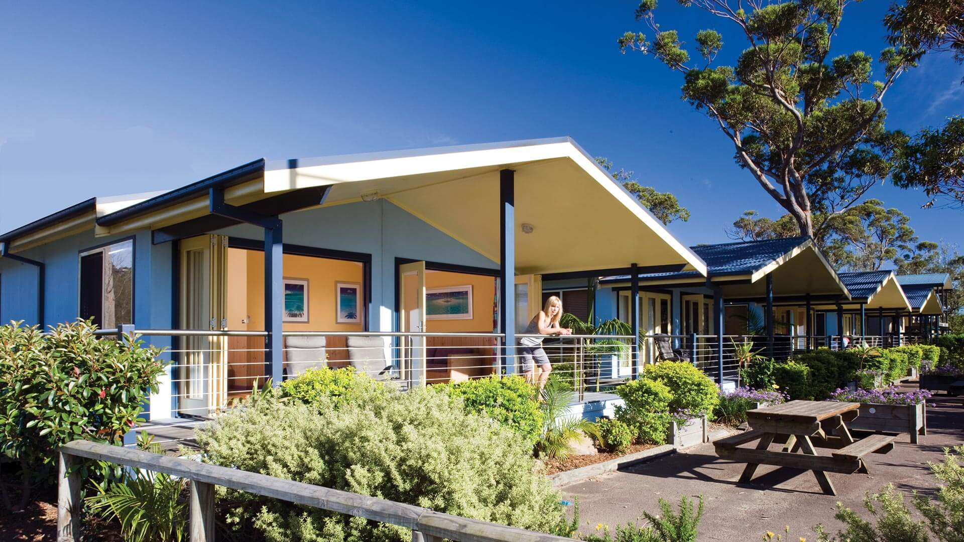 Seabreeze Villas at NRMA Ocean Beach Holiday Park