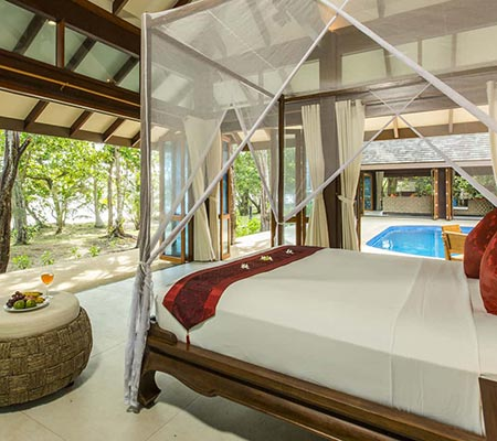 Two Bedroom Beach Pool Villa Suite