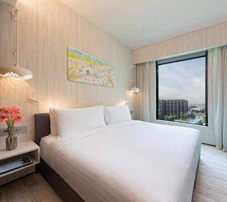Village Hotel Sentosa Deluxe Room