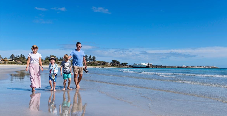 Penneshaw Beach Kangaroo Island