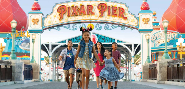 Pixar Pier © Disney