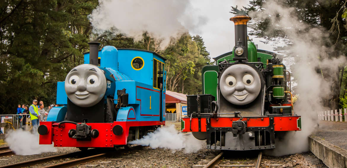 Puffing Billy - Australia's favourite steam train