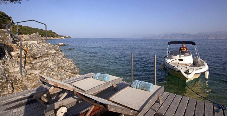 Boat port in Greece