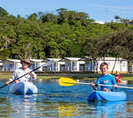 Canoeing at Ingenia Holidays White Albatross