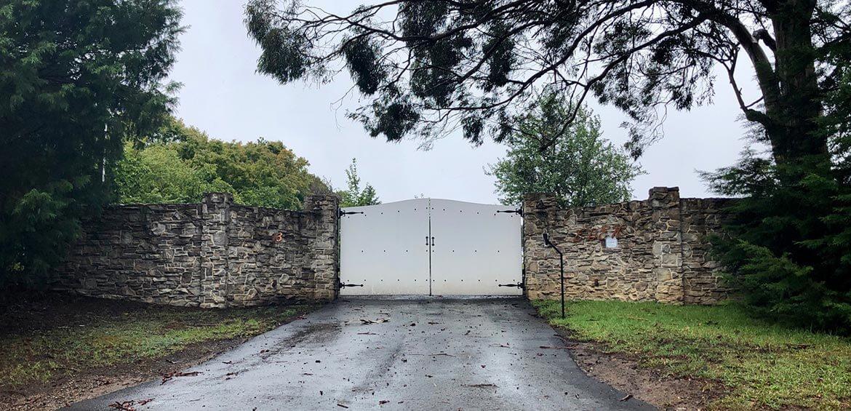 Entrance at Eden Farm Escape