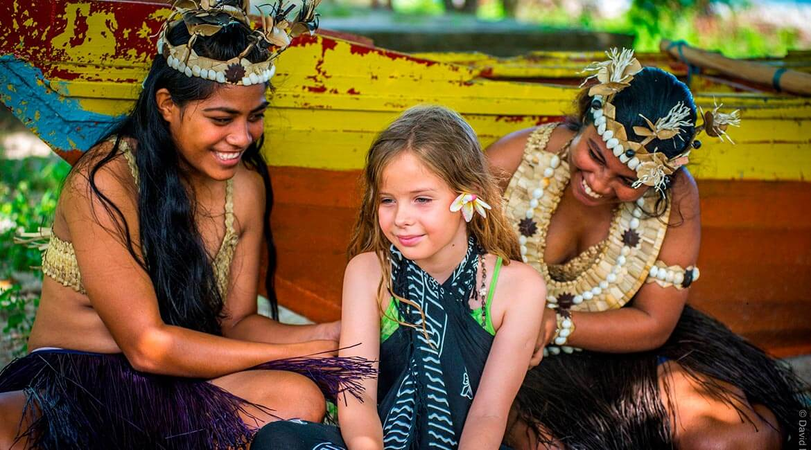 Fijian cultures with Captain Cook Cruises