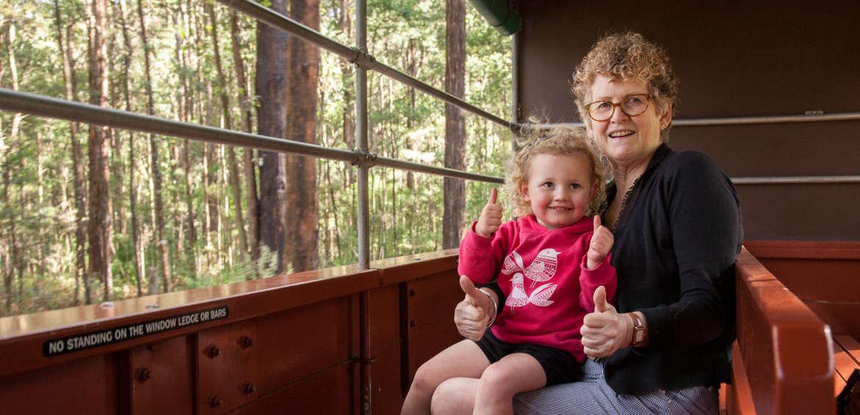 Puffing Billy - Australia's favourite steam train