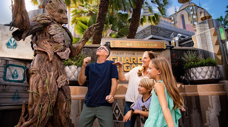 Groot at Disneyland Resort, California