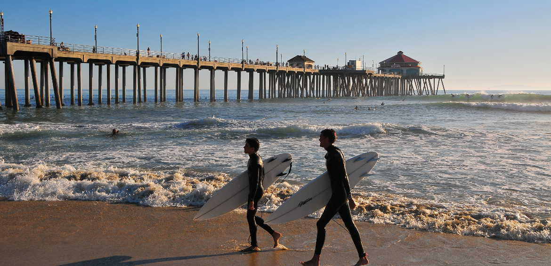 Huntington Beach, AKA SurfCityUSA © Huntington Beach Tourism