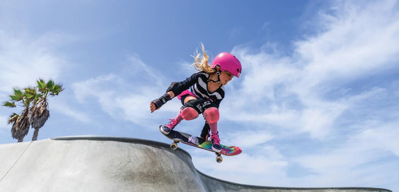 Skater girl at Kids Unplugged