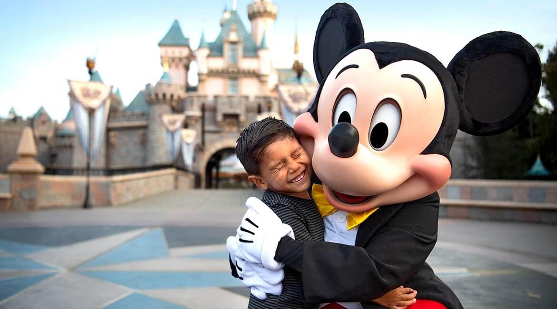 Mickey Mouse at Disneyland Resort, California