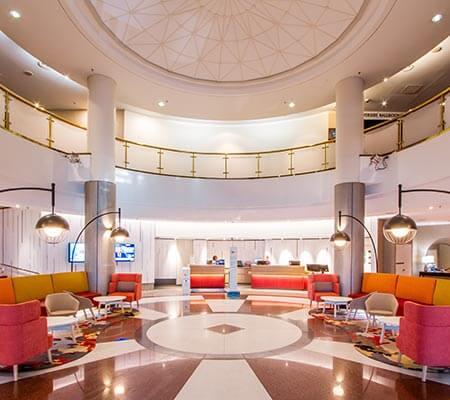 Novotel Perth Langley hotel lobby