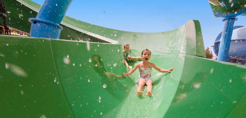 Slide at Adventure Park Geelong
