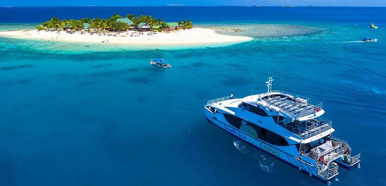 South Sea Island Day Cruise in Fiji