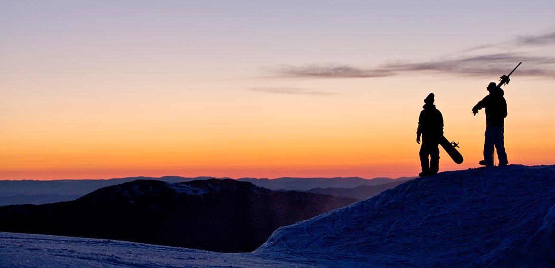 Sunset at Mt Buller