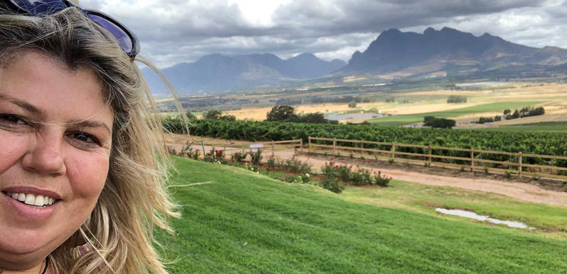 Urzila Carlson's South African holiday with kids