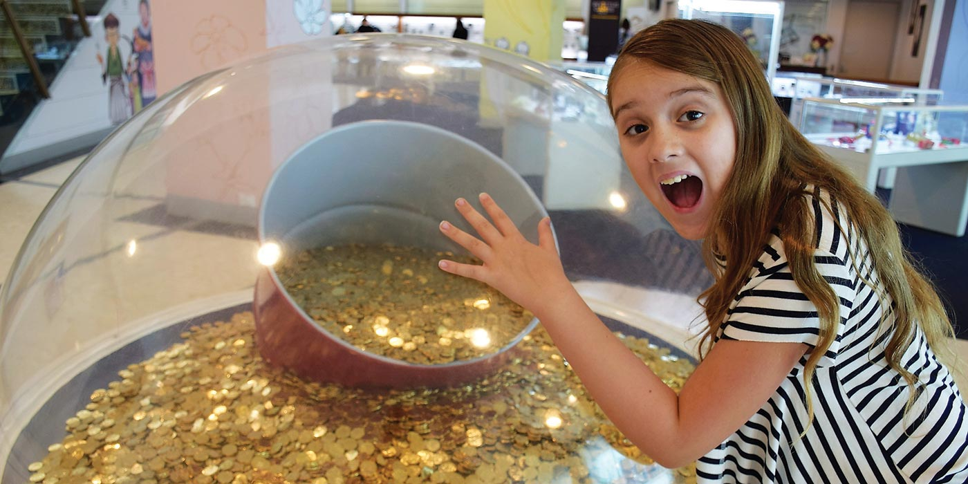 Coins galore at the Royal Australian Mint