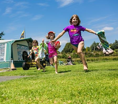 Kids having fun at TOP 10 Holiday Parks