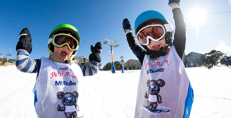 Mt Buller snowboarding