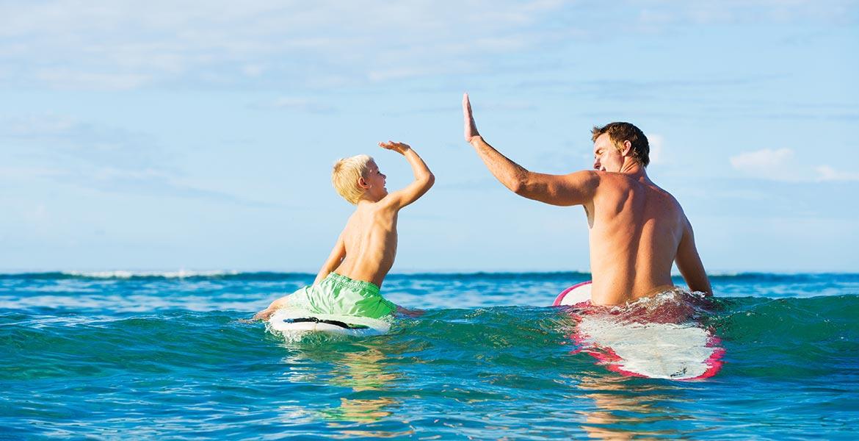 Point Plomer surfing